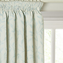 Buy John Lewis Leaf Trail Lined Pencil Pleat Curtains Online at johnlewis.com