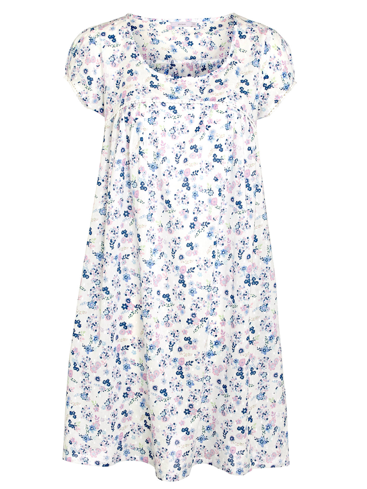 f5e9f89a43b Buy John Lewis Ditsy Floral Short Sleeve Nightdress