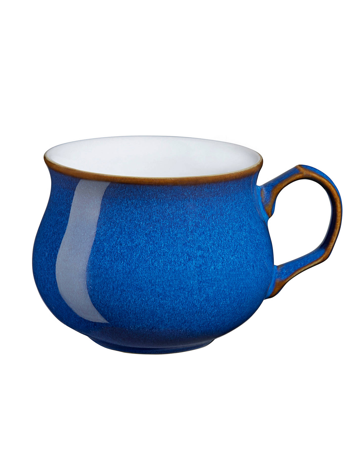 Buy Denby Imperial Blue Tea / Coffee Cup Online at johnlewis.com