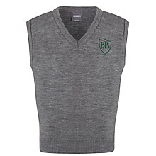 Buy Buckholme Towers School Boys' Slipover, Grey Online at johnlewis.com