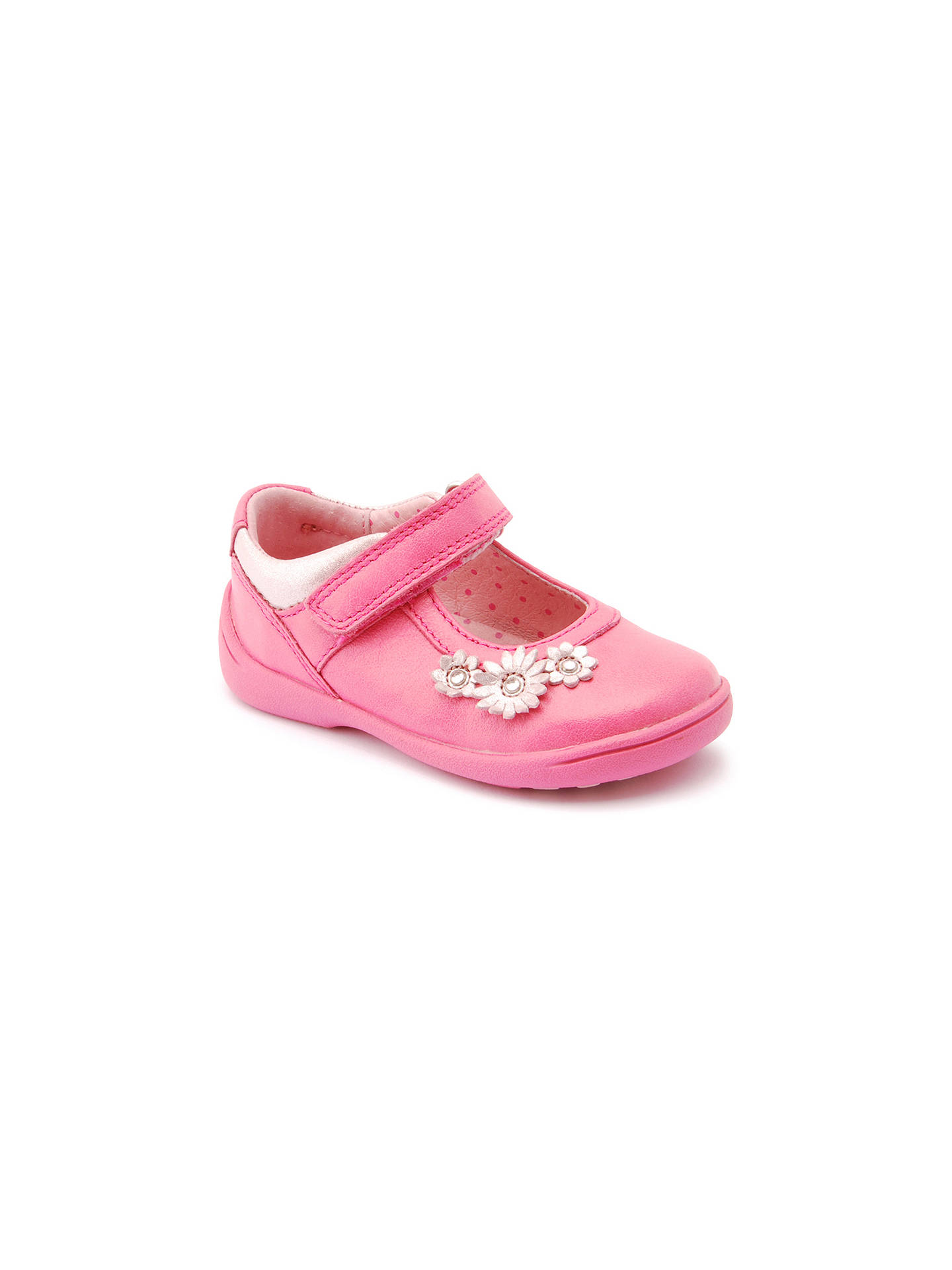 35202ab94b7c4 Buy Start-rite Super Soft Daisy Shoes, Hot Pink, 7F Jnr Online at ...