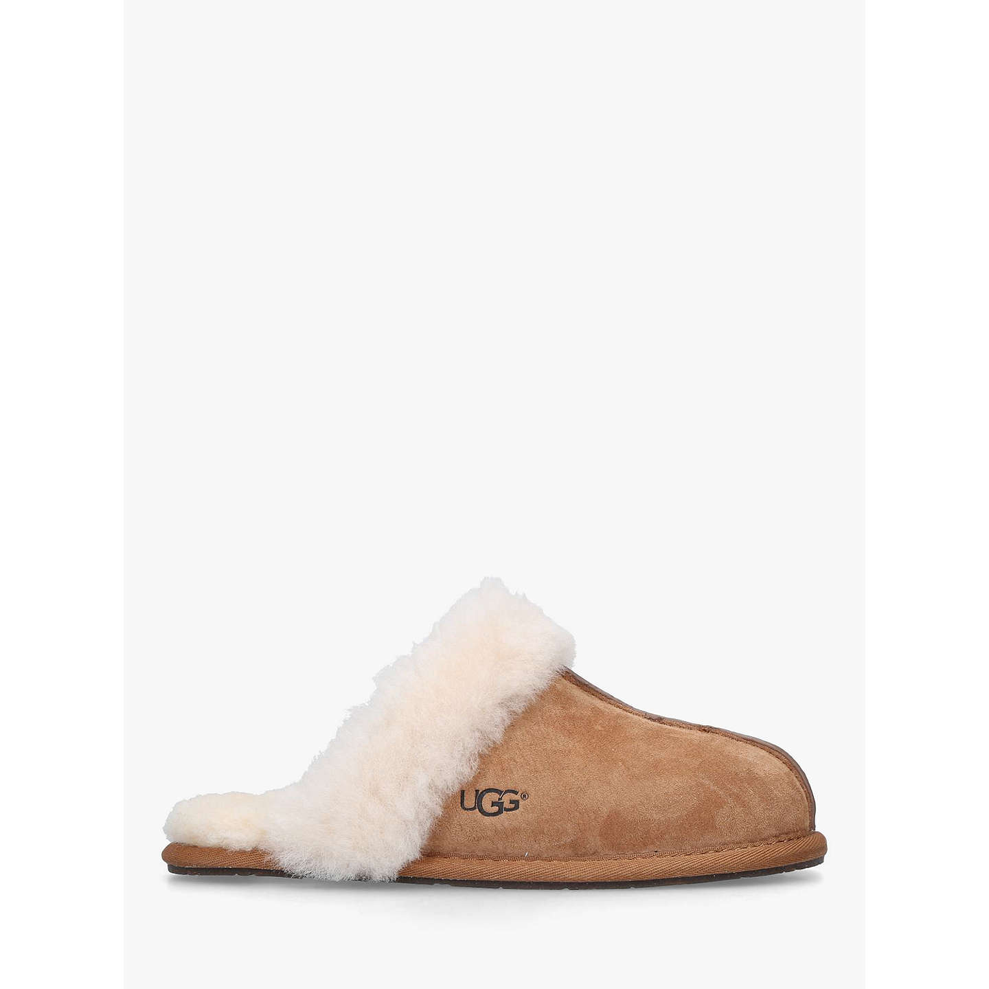 BuyUGG Scuffette II Sheepskin Slippers, Brown, 5 Online at johnlewis.com ...
