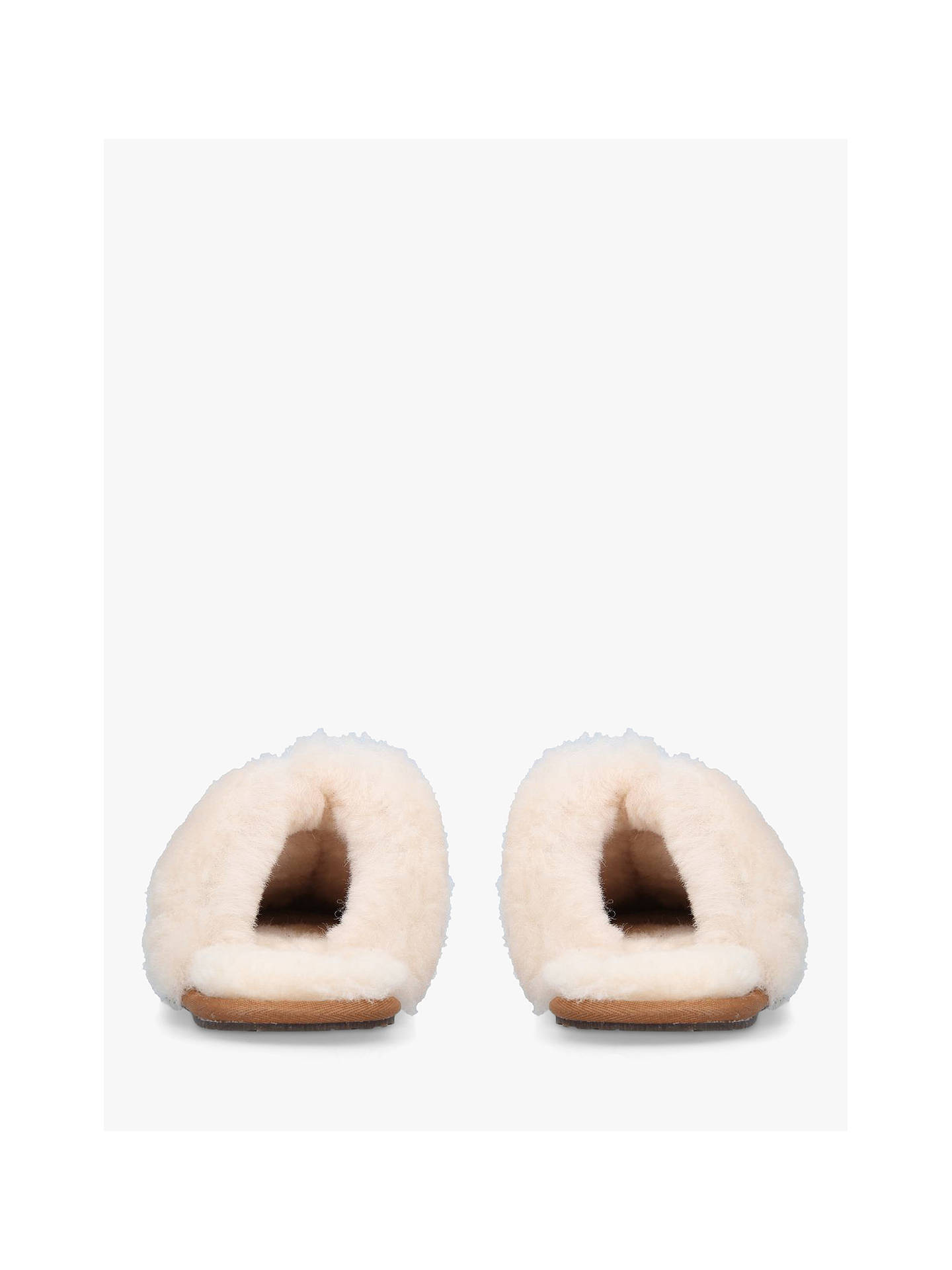 Buy UGG Scuffette II Sheepskin Slippers, Brown, 4 Online at johnlewis.com
