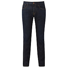 Buy Scotch & Soda Cotton Ralston Touchdown Jeans, Dark Wash Online at johnlewis.com