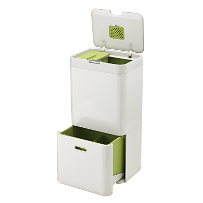 Joseph Joseph Intelligent Waste Separation & Recycling Totem Bin 60L