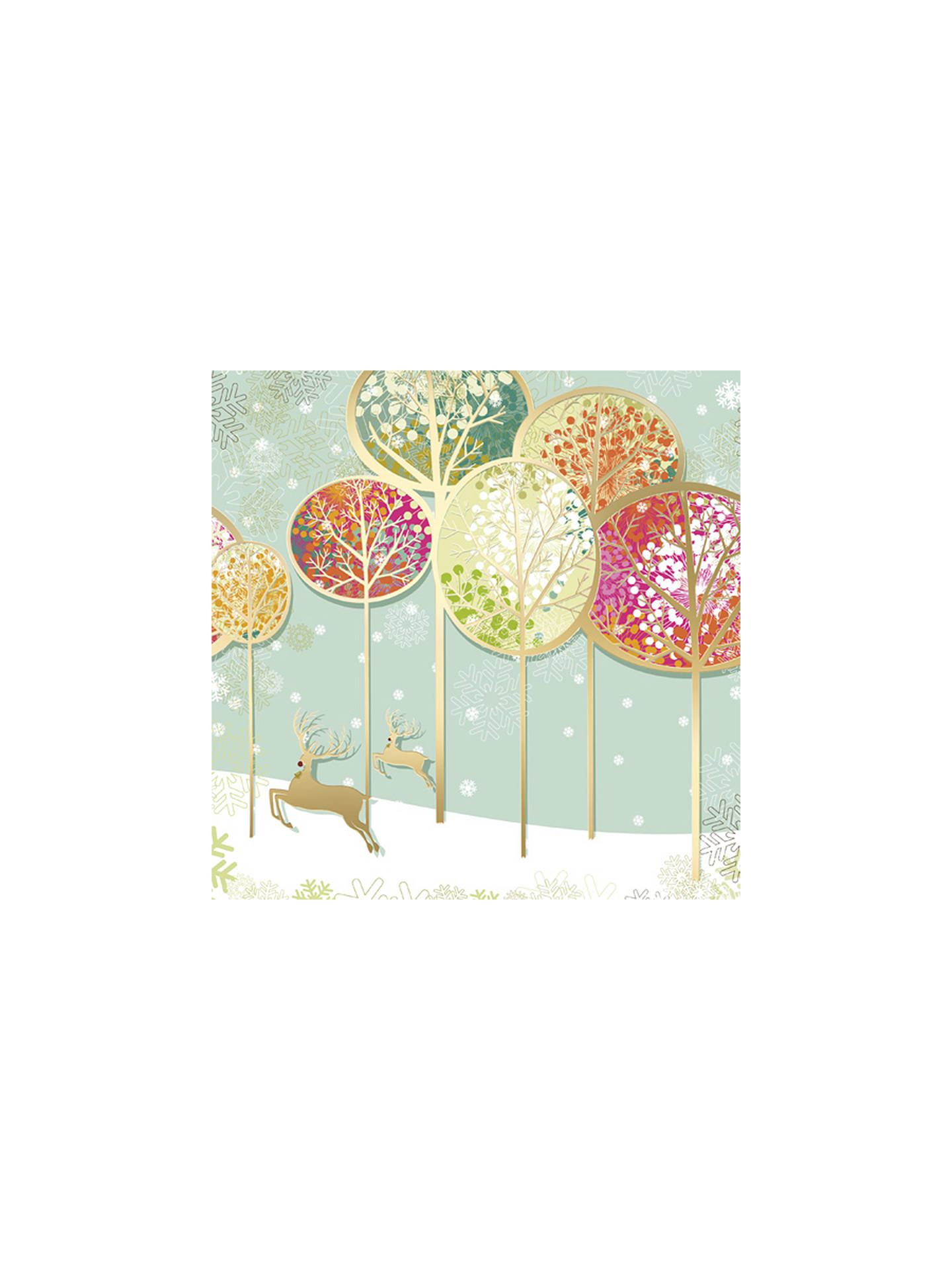 CCA Personalised Contemporary Christmas Landscape Charity Christmas ...