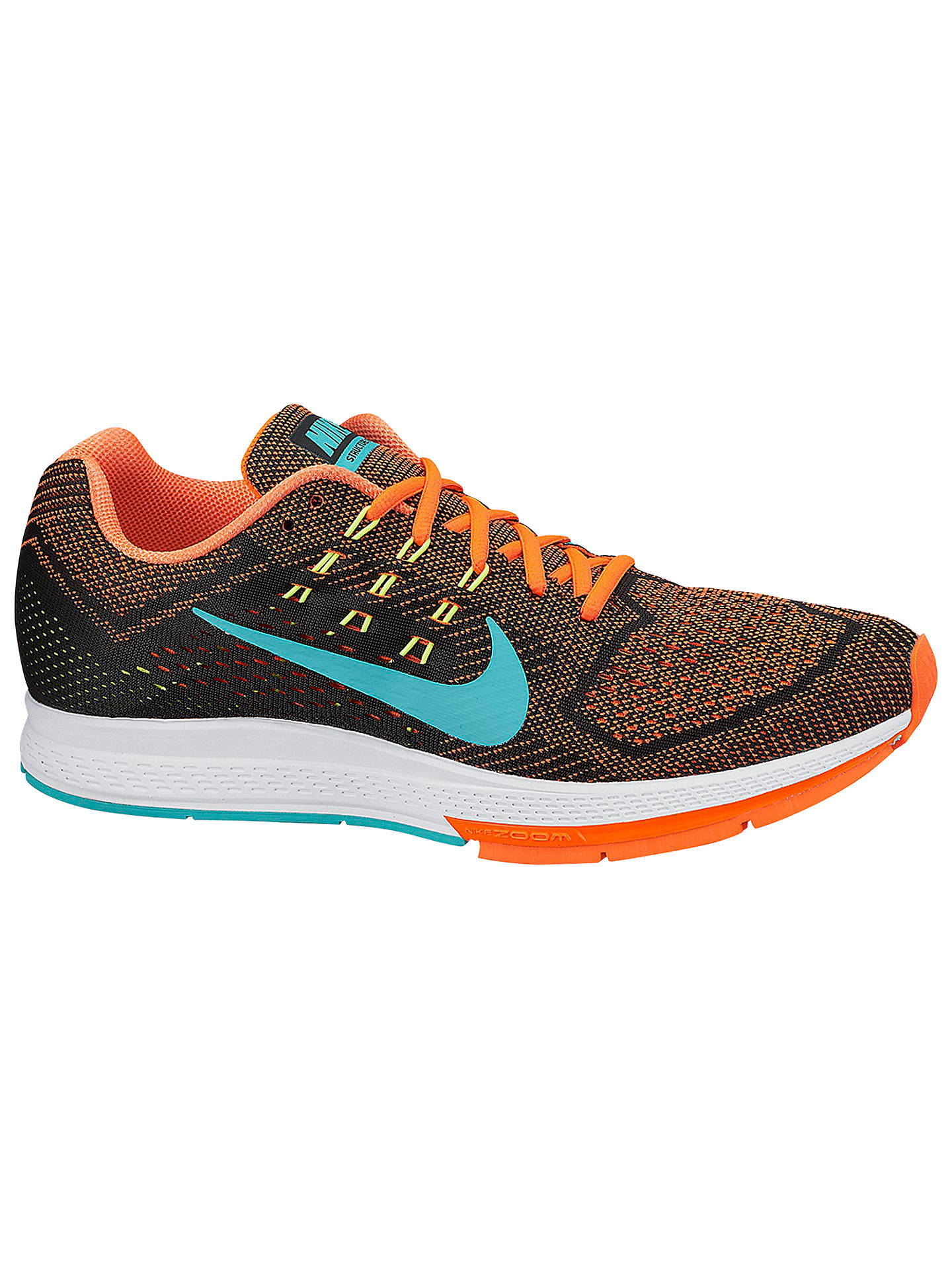 detailed look f183d 0efdb Buy Nike Air Zoom Structure 18 Men s Running Shoes, Hyper Crimson Hyper  Jade, ...