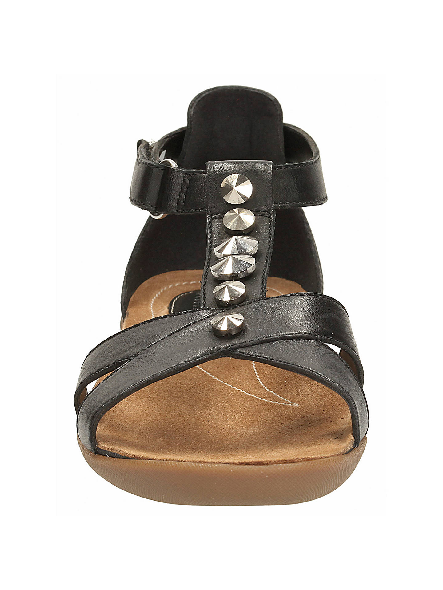 6889a8241 Clarks Raffi Scent Leather Sandals at John Lewis   Partners