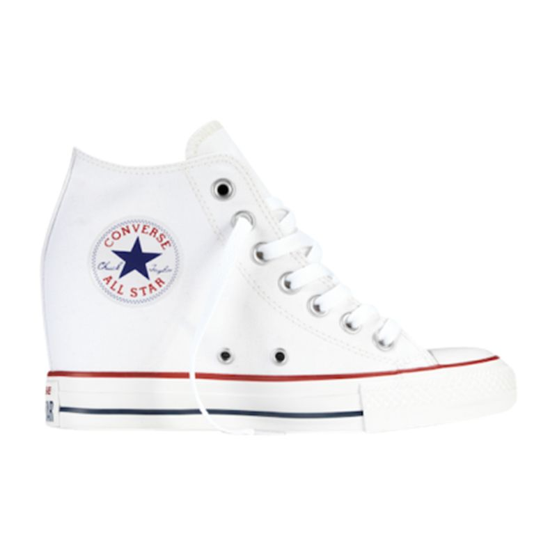 296f27f66b0c Converse Hi-Top Core Canvas Concealed Wedge Trainers