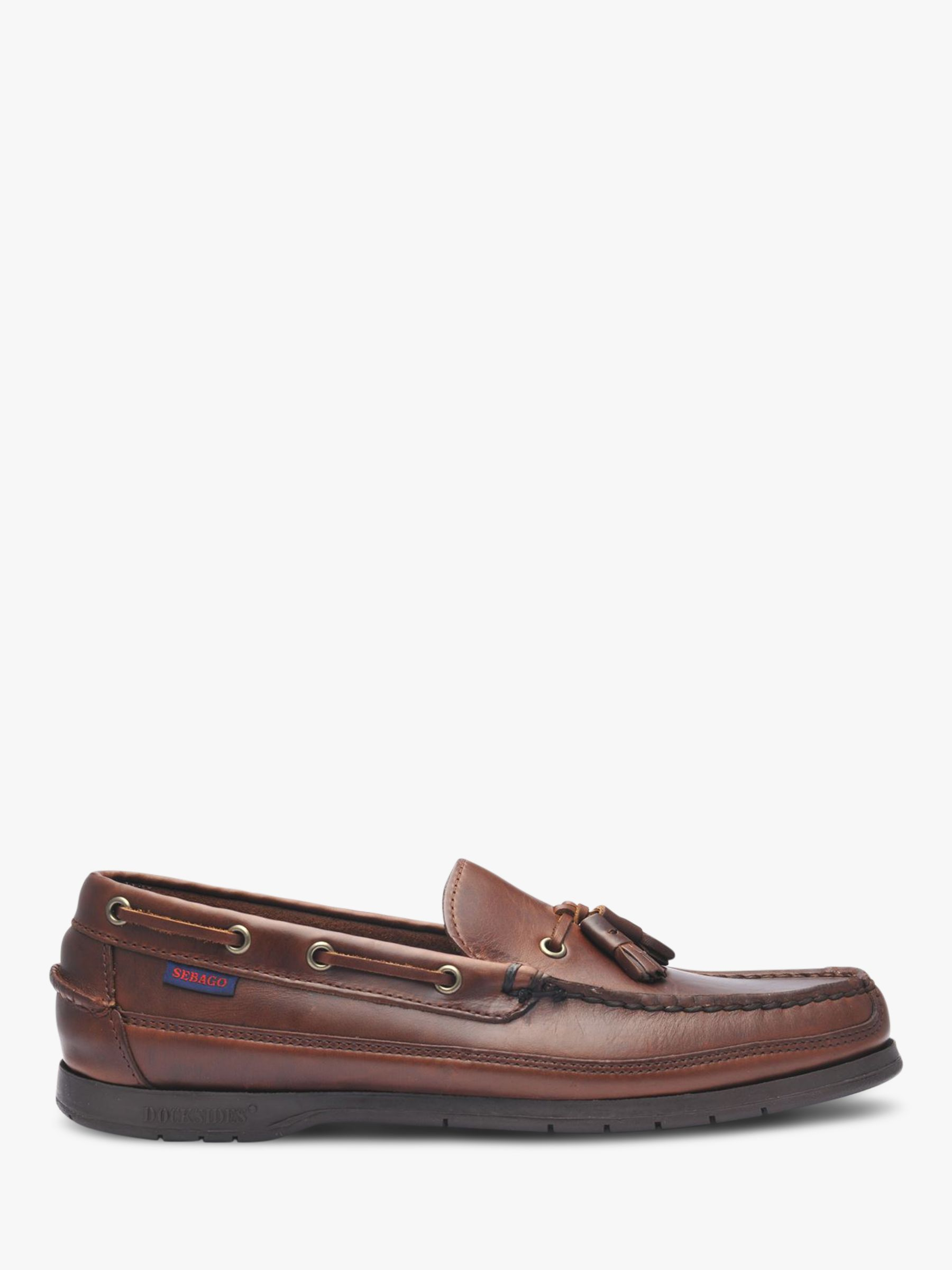 Sebago Sebago Ketch Leather Boat Shoes, Brown