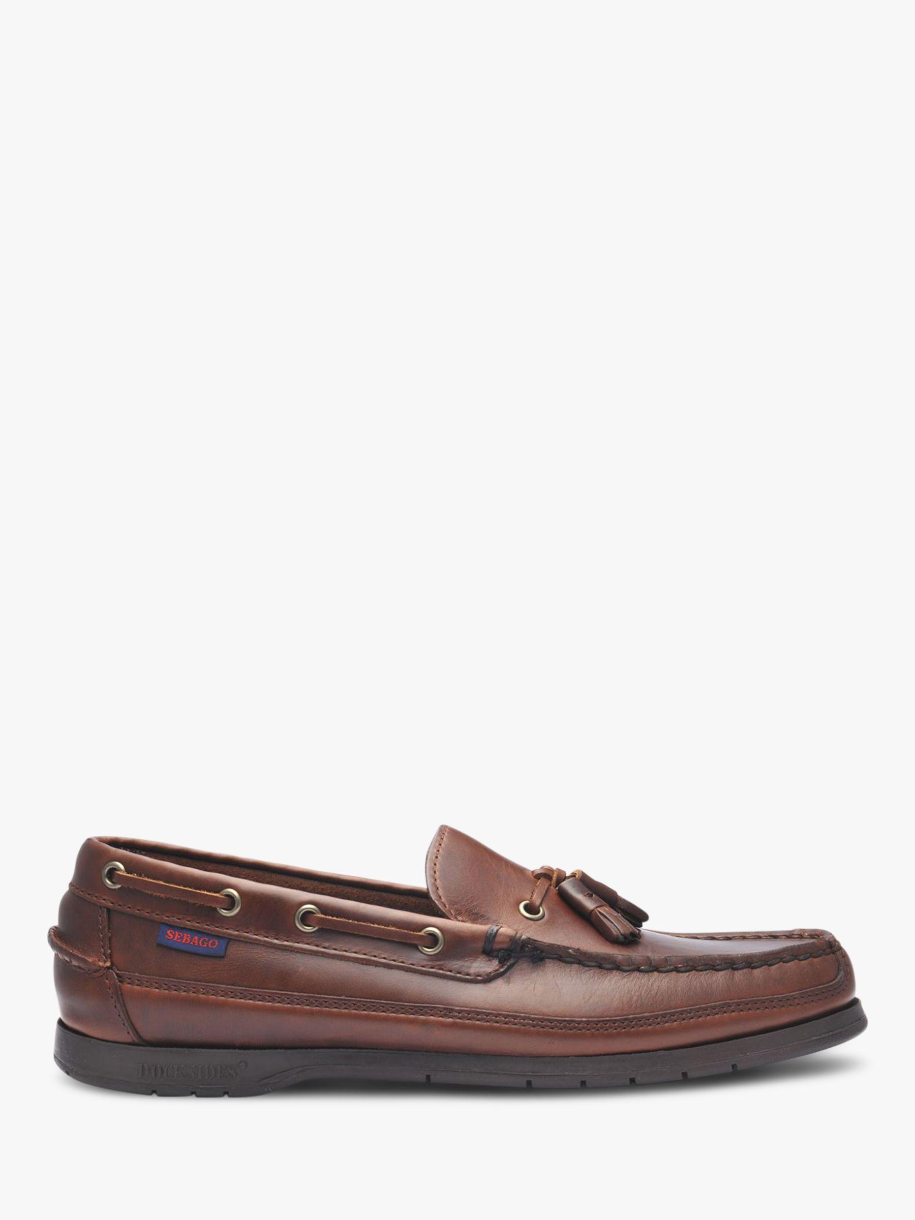 Sebago Sebago Ketch Leather Boat Shoes, Brown
