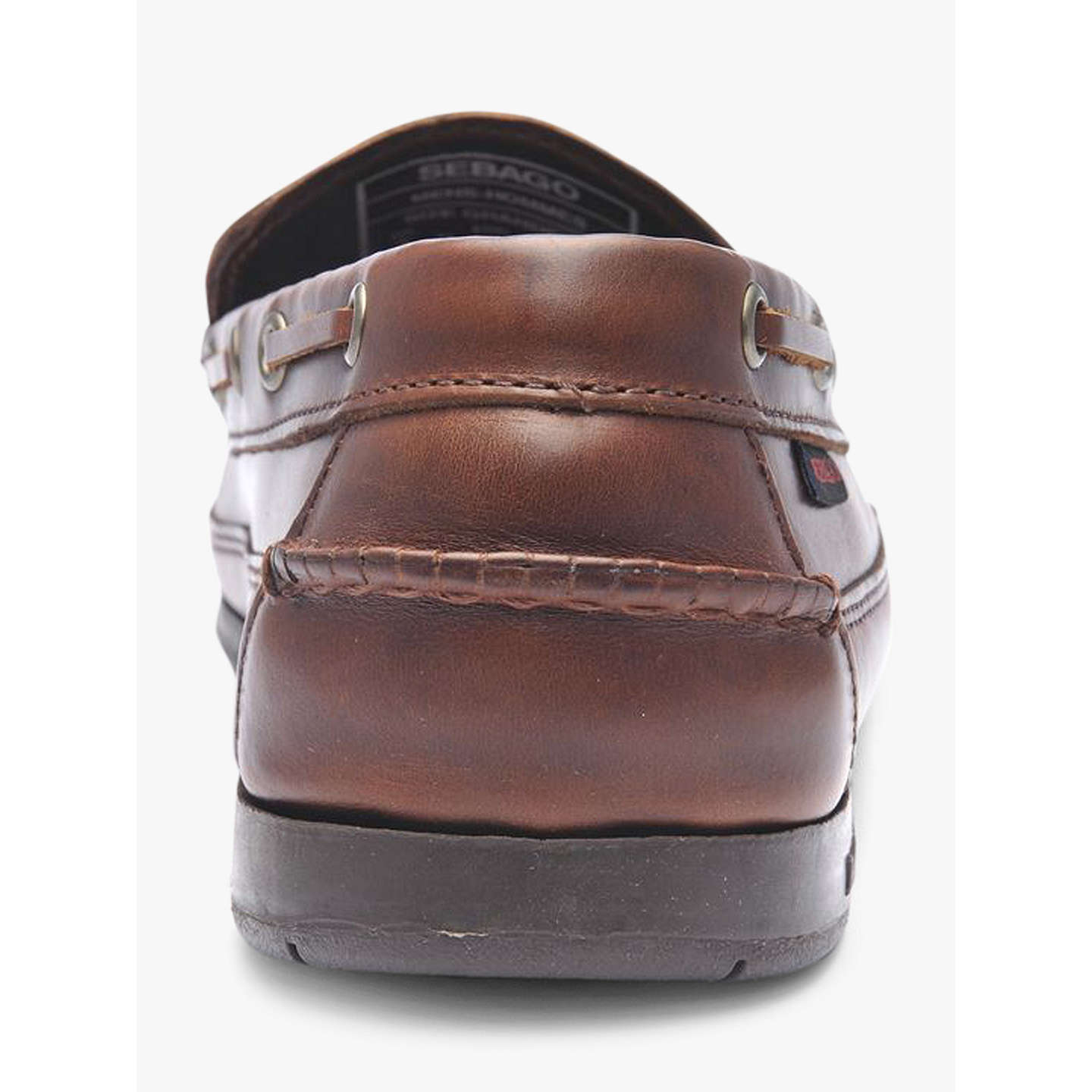 BuySebago Ketch Leather Boat Shoes, Brown, 7 Online at johnlewis.com