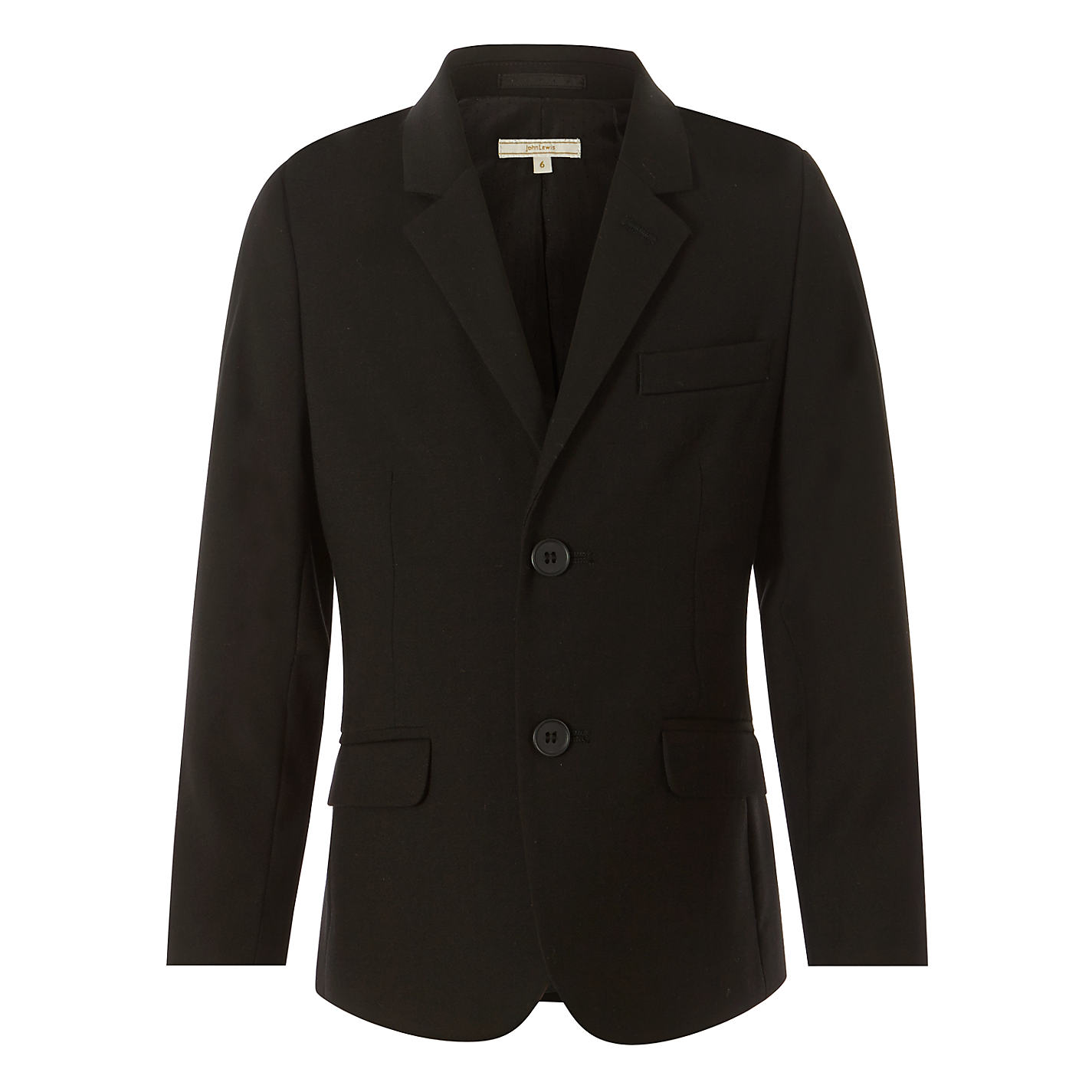 Buy John Lewis Heirloom Collection Boys' Suit Jacket, Black | John ...
