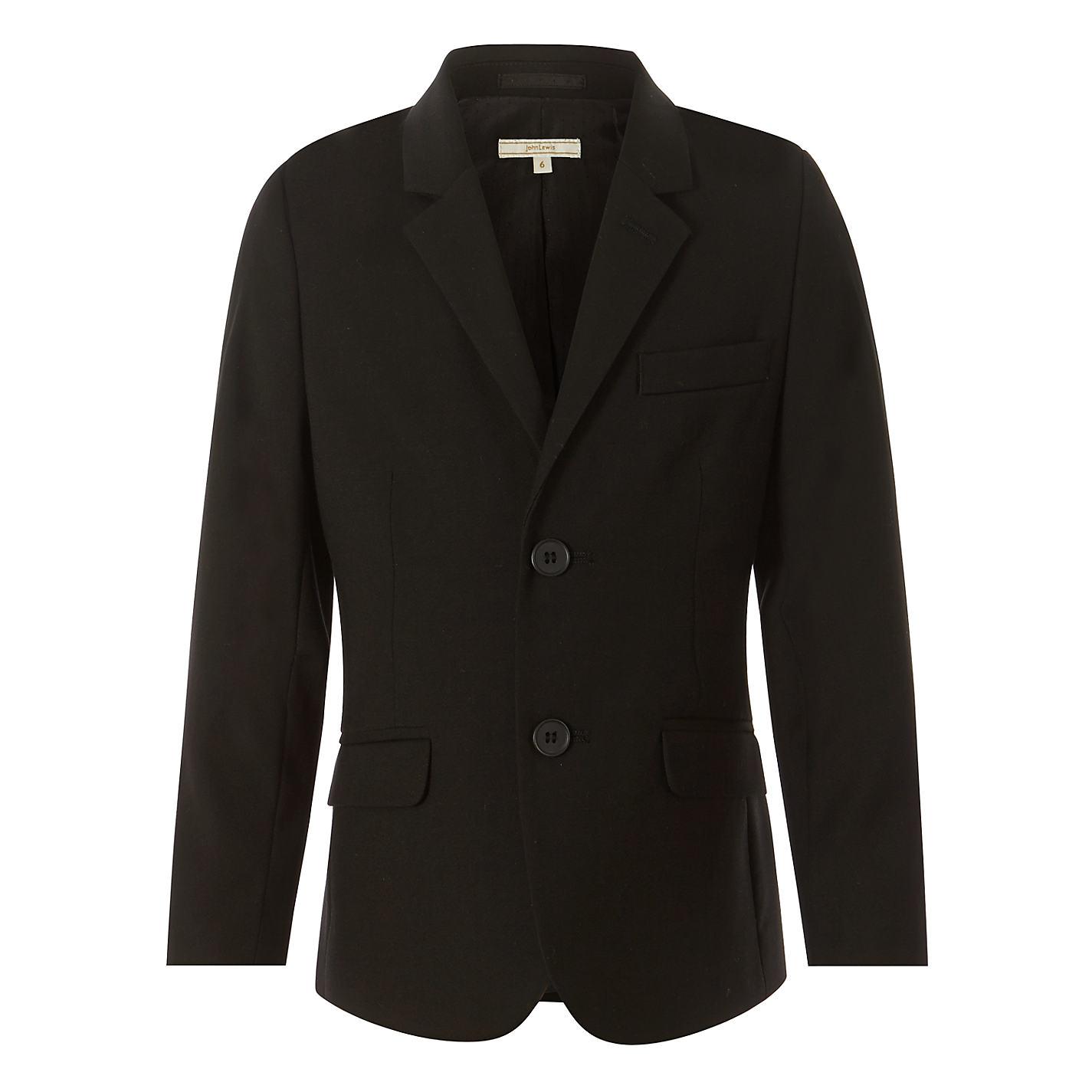 Buy John Lewis Heirloom Collection Boys' Suit Jacket, Black | John ...