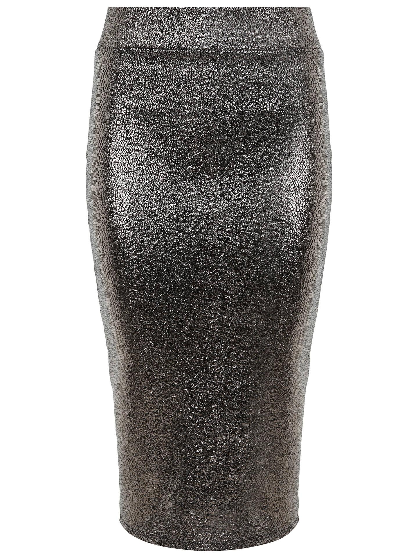 5683646f9d8 BuyMiss Selfridge Metallic Pencil Skirt