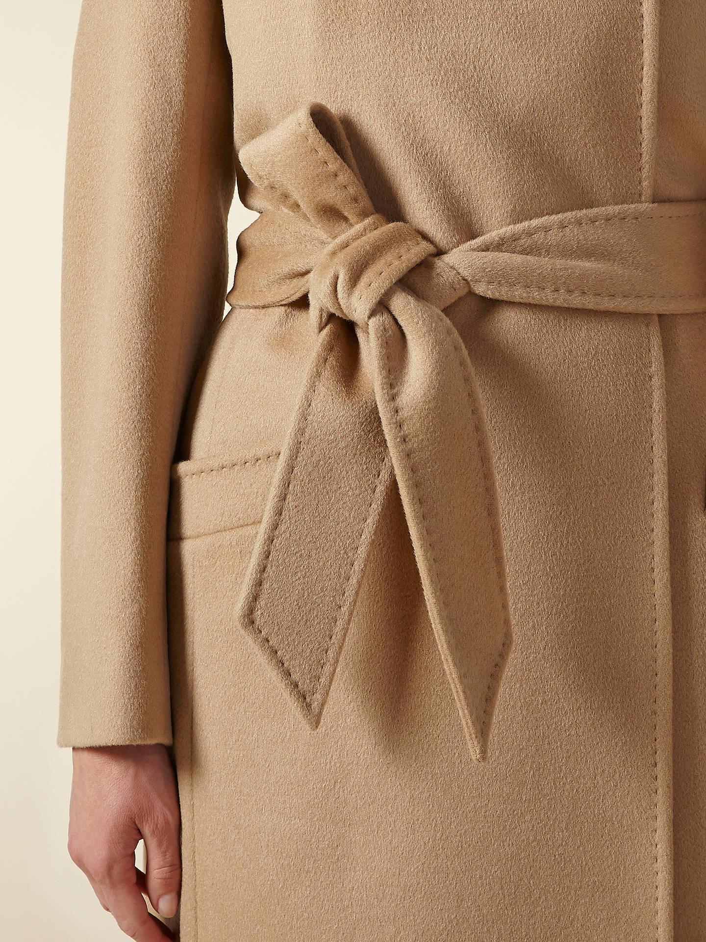 Jaeger Long Belted Coat at John Lewis & Partners