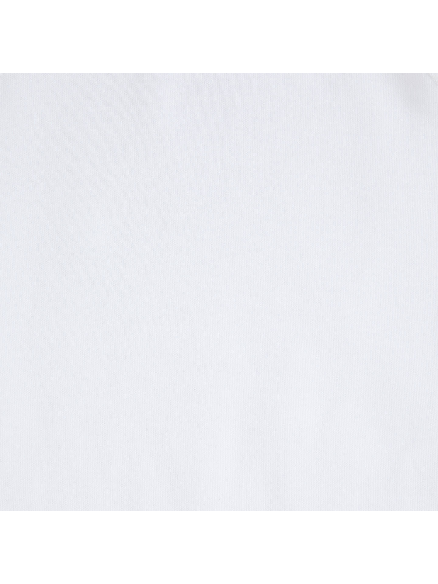 Buy John Lewis & Partners Baby Organic Cotton Sleepsuit, Pack of 5, White, Early baby Online at johnlewis.com