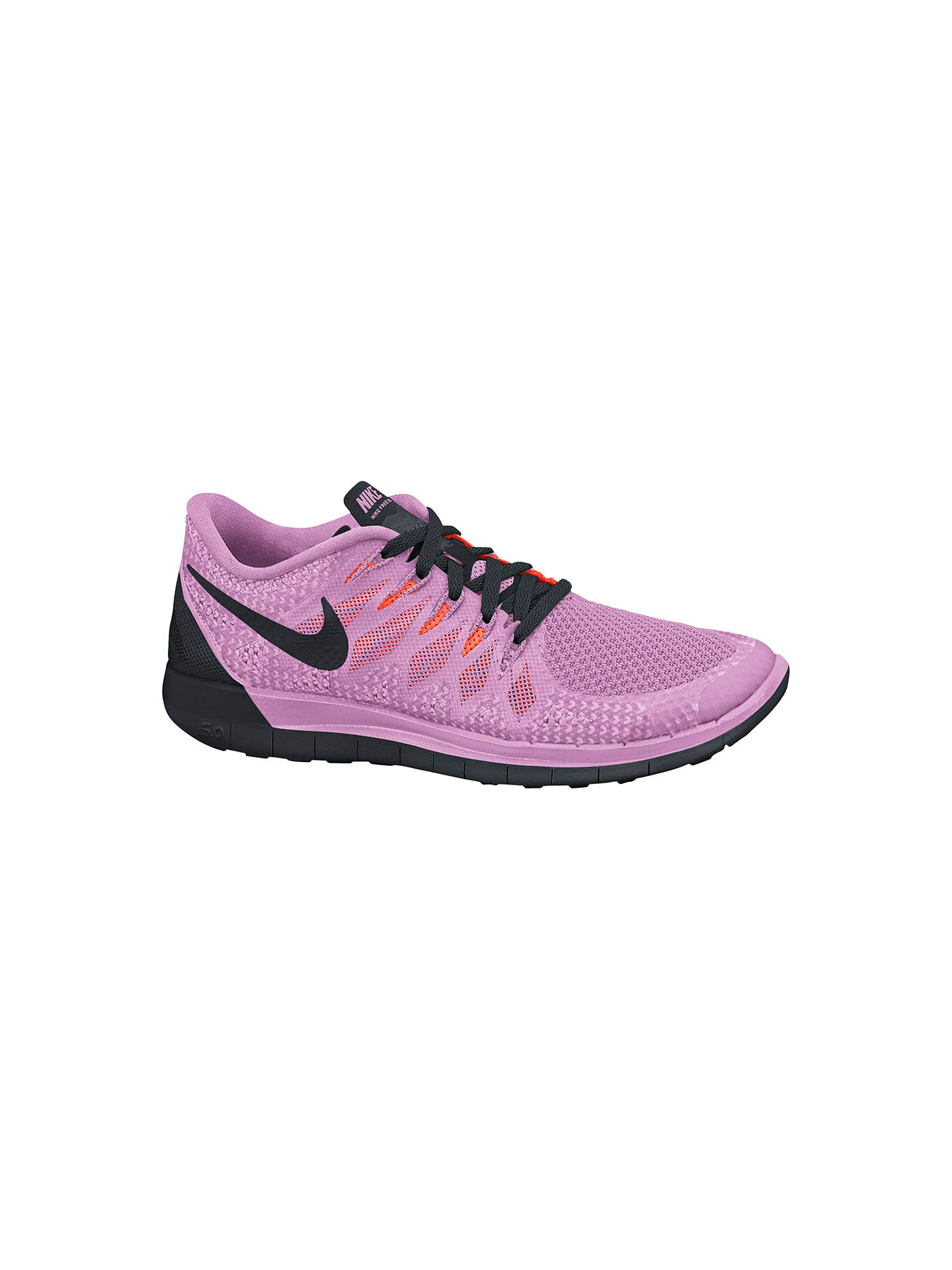 best service 3d8e3 f28ed Buy Nike Free 5.0 Women s Running Shoes, Light Magenta Black, 6 Online at  ...