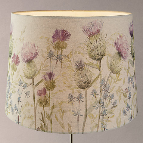 buy voyage thistle tapered lamp shade john lewis. Black Bedroom Furniture Sets. Home Design Ideas