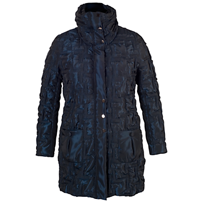 Chesca 2-Tone Bonfire Coat, Night Sky