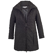 Buy Chesca Mini Bonfire Quilted Coat, Black Online at johnlewis.com