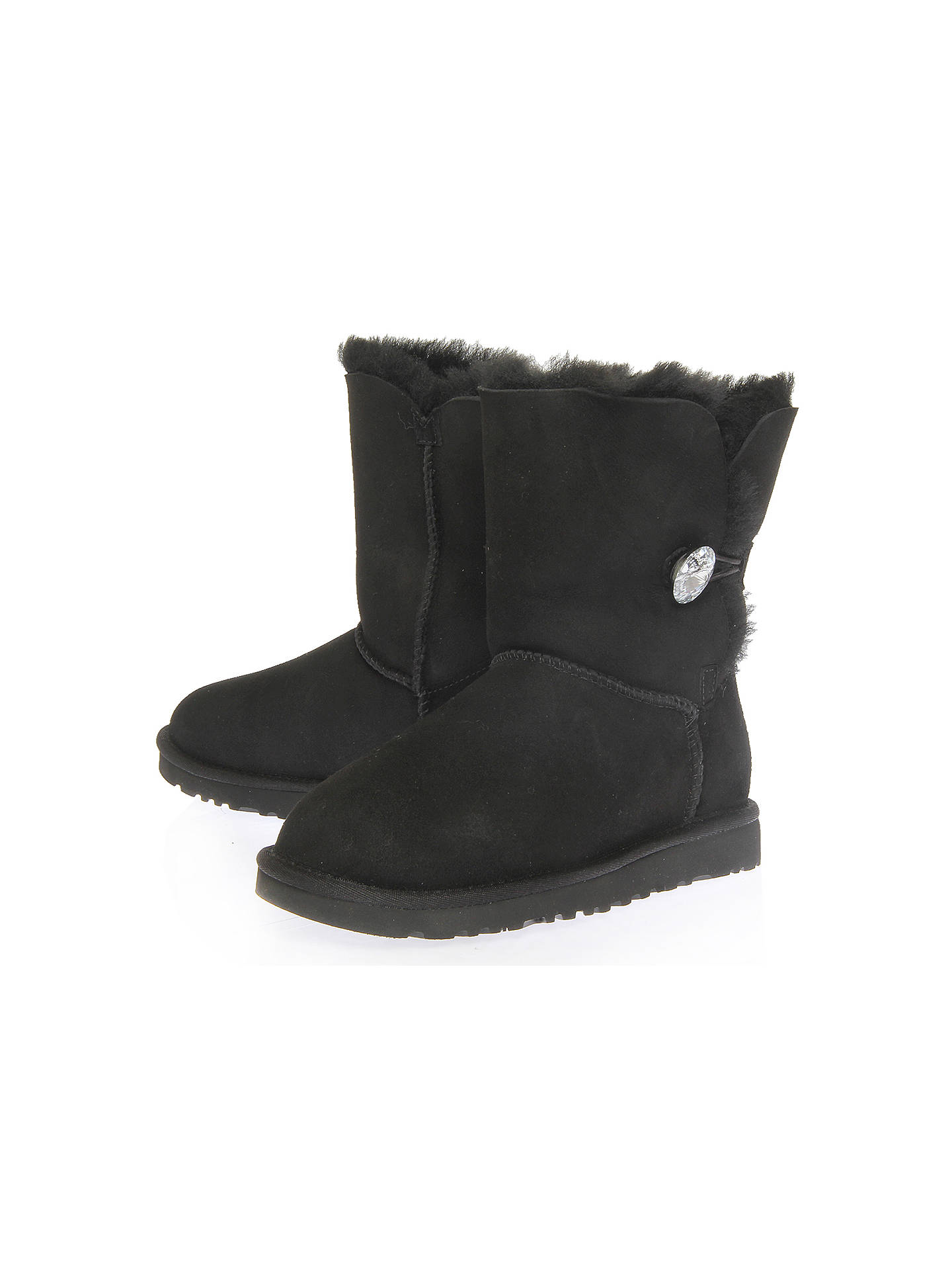 380d694f6ac UGG Bailey Bling Swarovski Button Boots at John Lewis & Partners