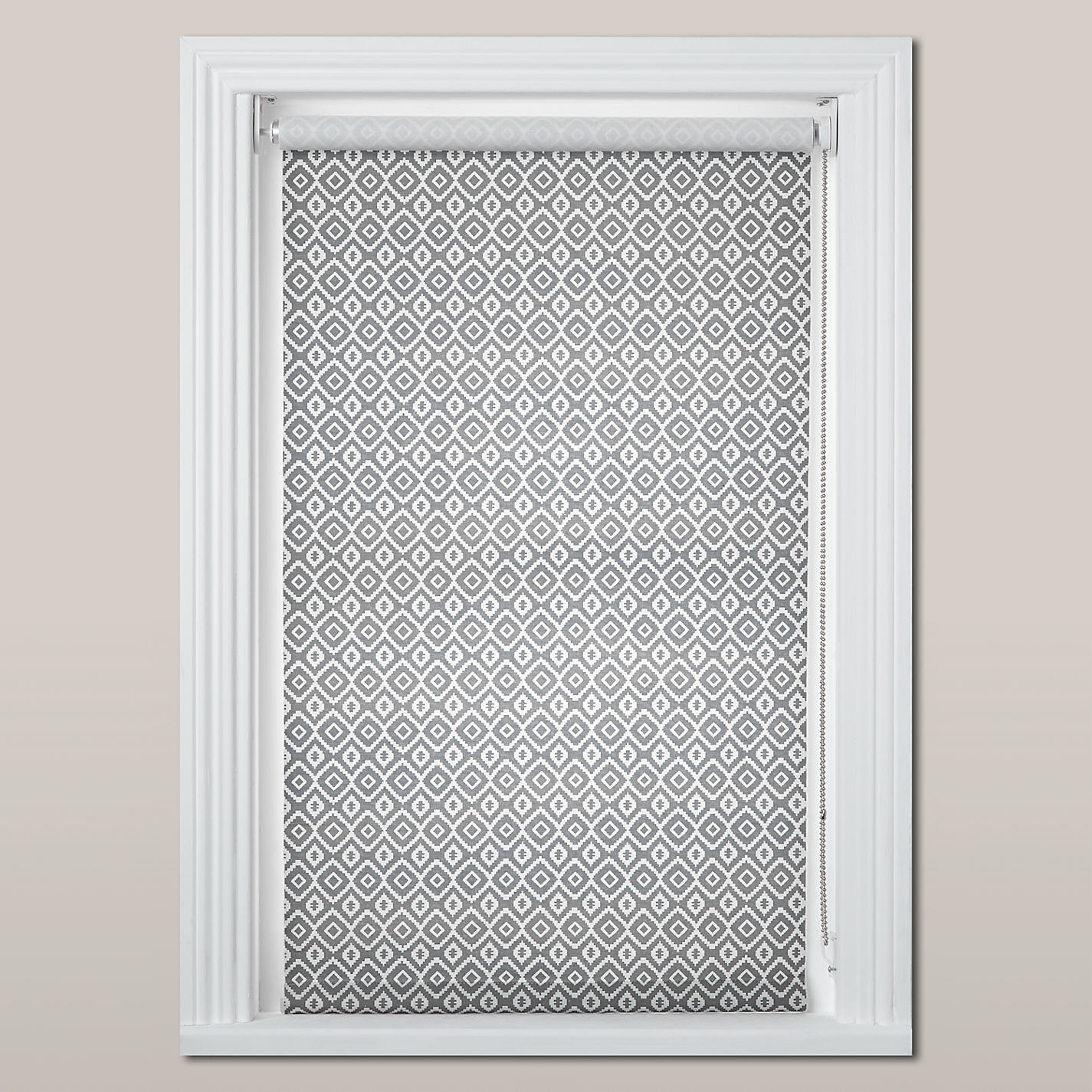 Cheap bathroom blinds uk - Buy John Lewis Nazca Daylight Roller Blind Grey Online At Johnlewis Com