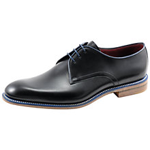 Buy Loake Drake Derby Shoes, Black Online at johnlewis.com