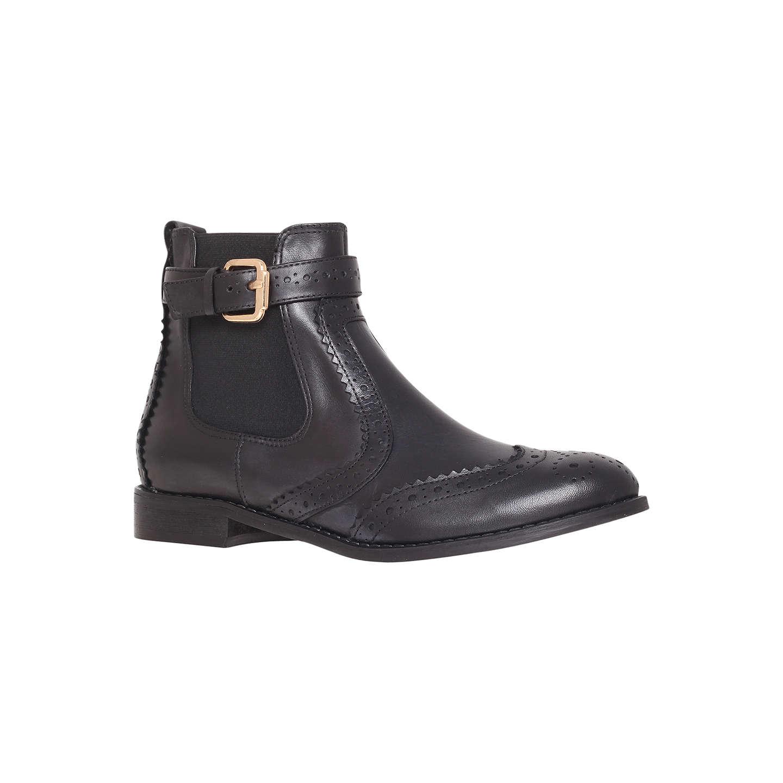 BuyCarvela Slow Leather Chelsea Boots, Black, 3 Online at johnlewis.com ...