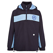 Buy Upton House School Tracksuit Top, Navy/Sky Blue Online at johnlewis.com