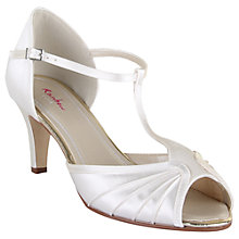 Buy Rainbow Club Katy Mid Heel Sandals, Ivory Online at johnlewis.com