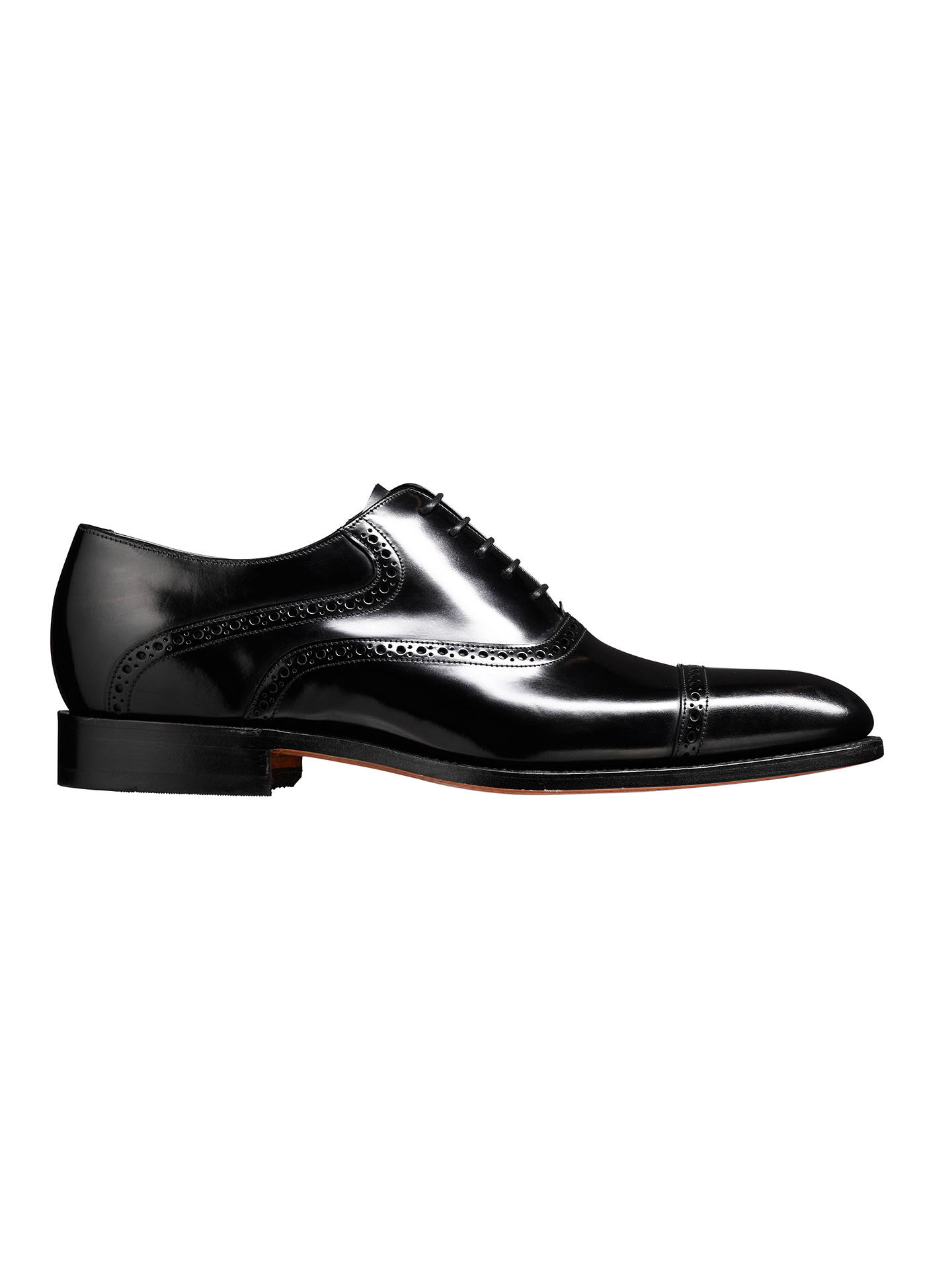 BuyBarker Wilton Goodyear Welt Leather Oxford Shoes, Black, 7 Online at johnlewis.com