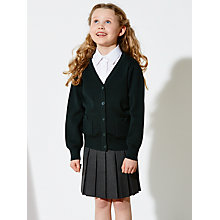 Buy John Lewis Bow Detail School Knit Cardigan Online at johnlewis.com