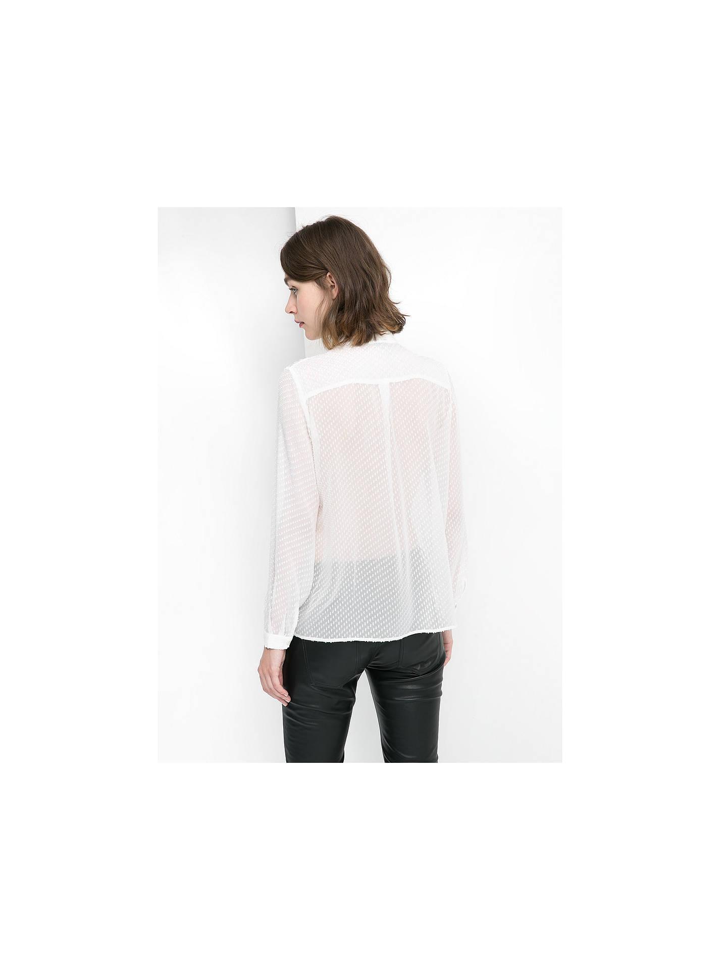 f7567512c5df21 ... Buy Mango Plumeti Neck Tie Silk-Blend Blouse