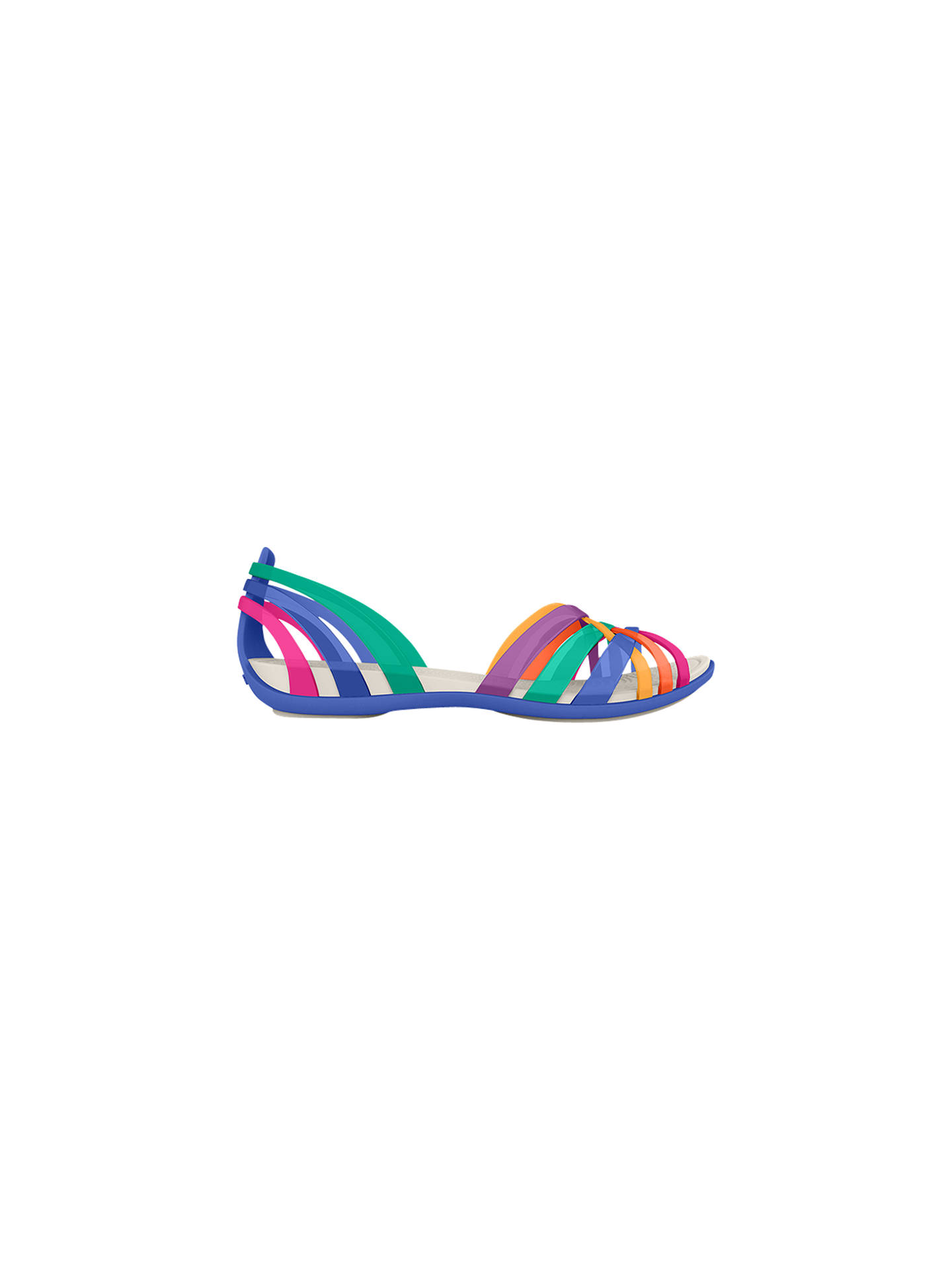 e01cce733033 Buy Crocs Huarache Women s Flat Sandals