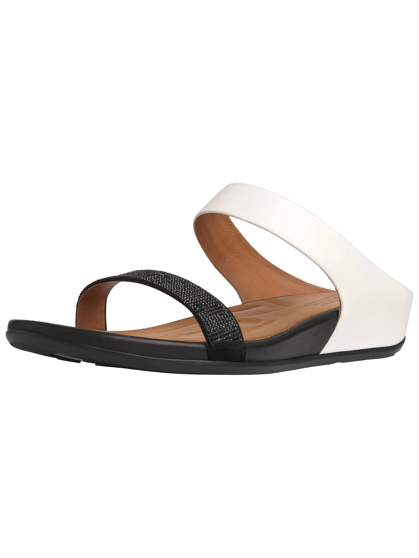 0ecd26060 Buy FitFlop Banda Crystal Slide Leather Sandals