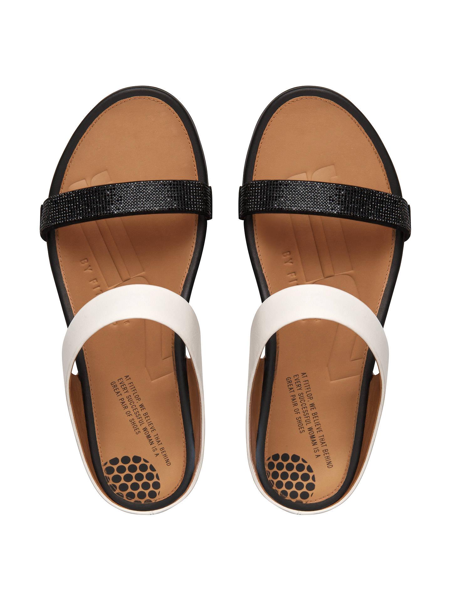 241a7eb40da ... Buy FitFlop Banda Crystal Slide Leather Sandals