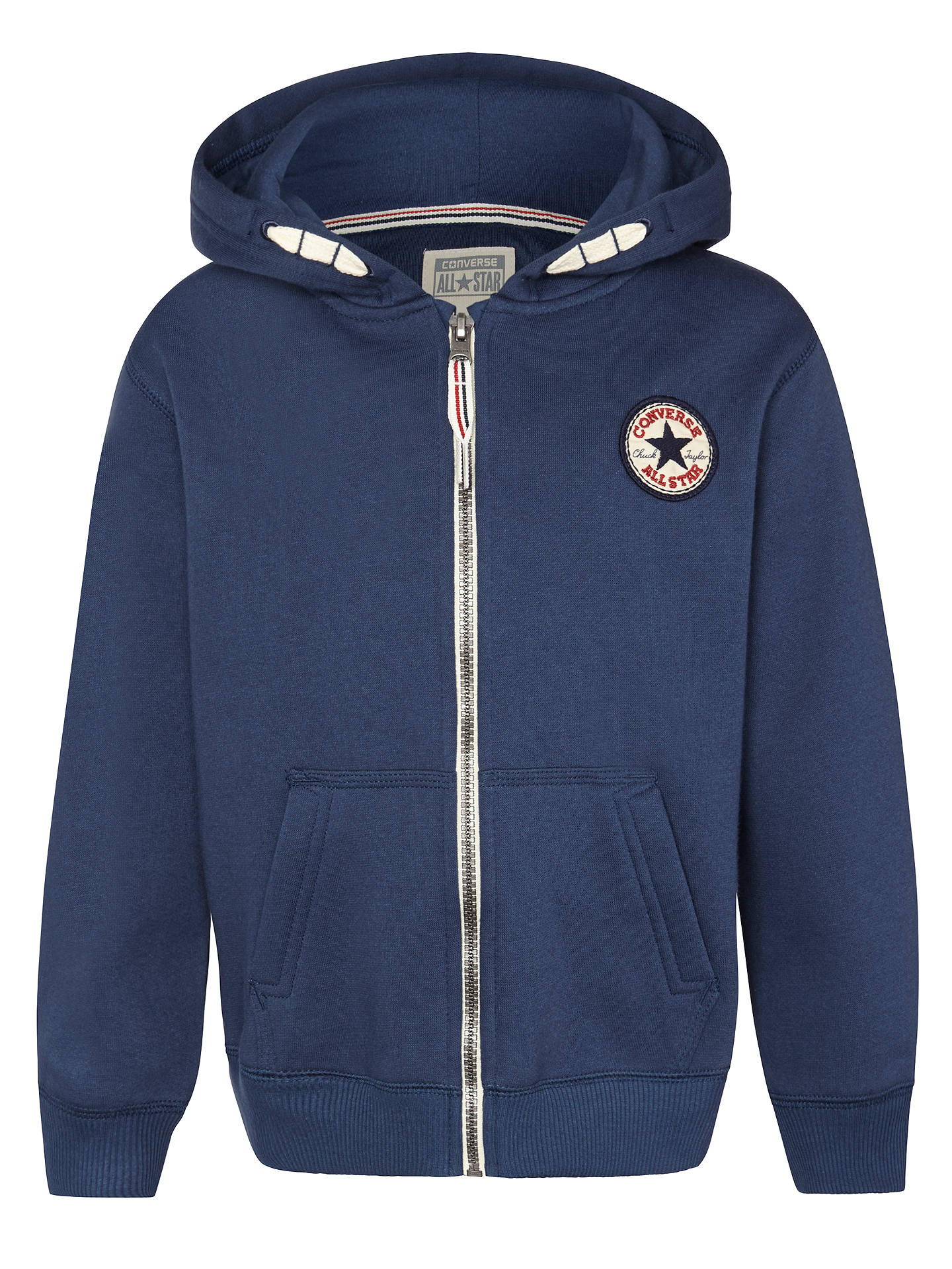 a7e3a05a36d4 Converse All Star Zip Hoodie at John Lewis   Partners