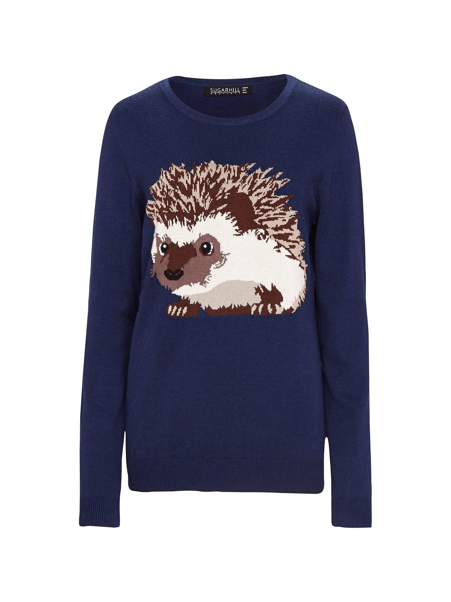 Hedgehog Christmas Jumper.Sugarhill Boutique Hedgehog Jumper At John Lewis Partners