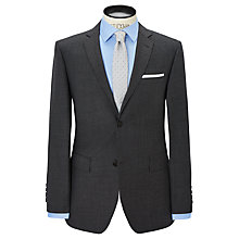 Buy Richard James Mayfair Pick and Pick Suit Jacket, Charcoal Online at johnlewis.com