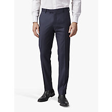 Buy Richard James Mayfair Pick and Pick Suit Trousers, Navy Online at johnlewis.com