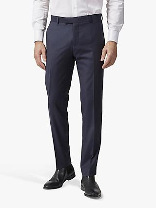 Richard James Mayfair Pick and Pick Suit Trousers, Navy