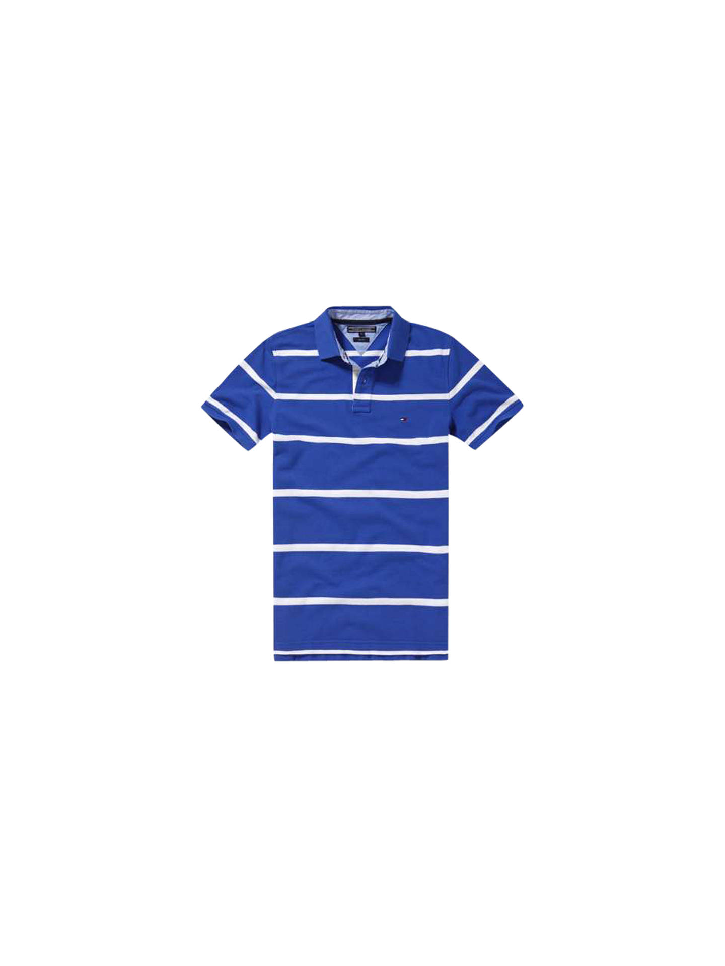 b5b13260a72cb Tommy Hilfiger Bar Stripe Slim Fit Polo Shirt at John Lewis   Partners