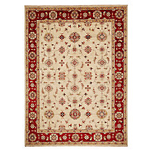 Buy John Lewis Garous Hand Made Rug, Beige Online at johnlewis.com