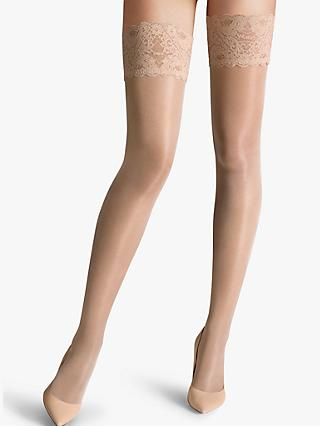 701dc6cdd Wolford Satin Touch 20 Denier Stay Ups