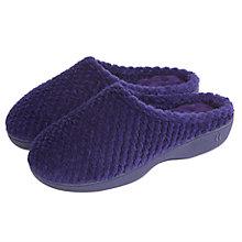 Buy Totes Popcorn Mule Slippers, Navy Online at johnlewis.com