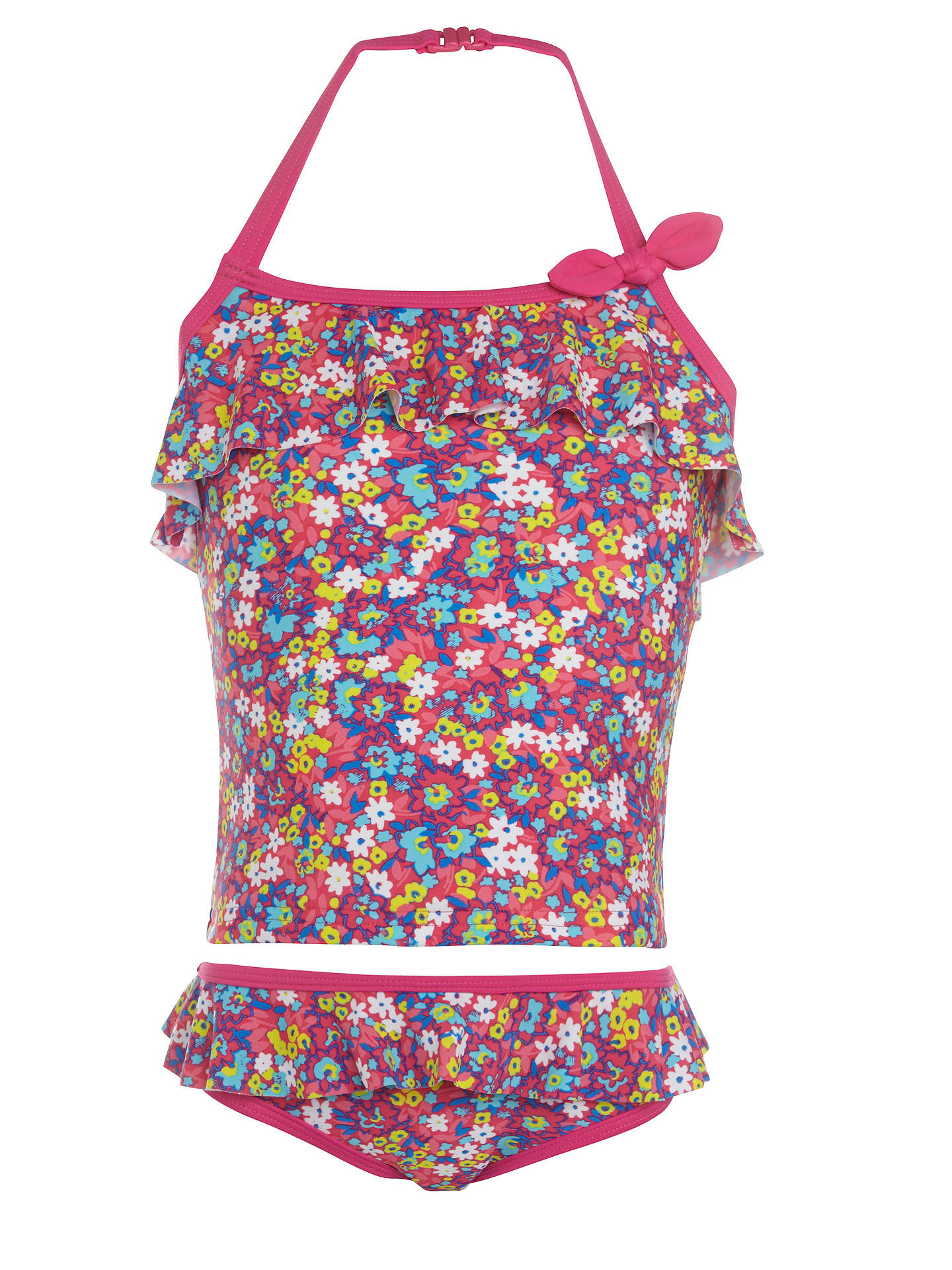 Buy John Lewis Girl Ditsy Print Tankini, Multi, 3 years Online at johnlewis.com
