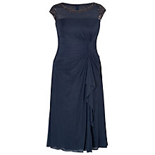 Buy Chesca Sequin Waterfall Dress, Blue Online at johnlewis.com