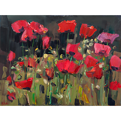 James Fullarton – Poppies in the Garden