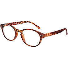 Buy Magnif Eyes Ready Readers St Louis Glasses, Tortoise Online at johnlewis.com